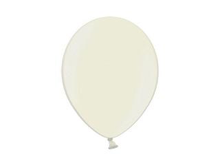 Svadobné ozdoby - Metalický balónik - krémový