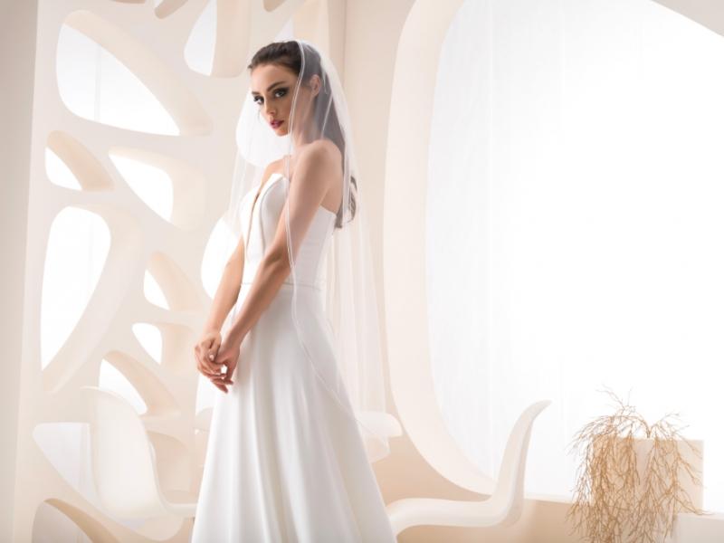 Doplnky pre nevestu - Dvojvrstvový svadobný závoj