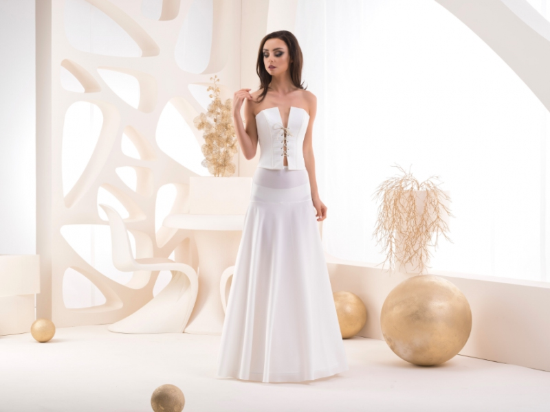 Doplnky pre nevestu - Spodnička s elastickým pásom - obvod 190 cm