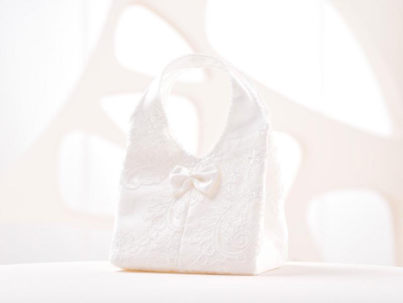 Doplnky pre nevestu - Svadobná kabelka B8