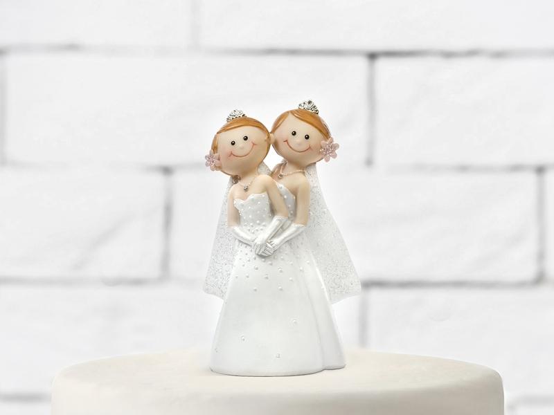 Figúrky na svadobnú tortu - Figúrka na tortu - nevesty