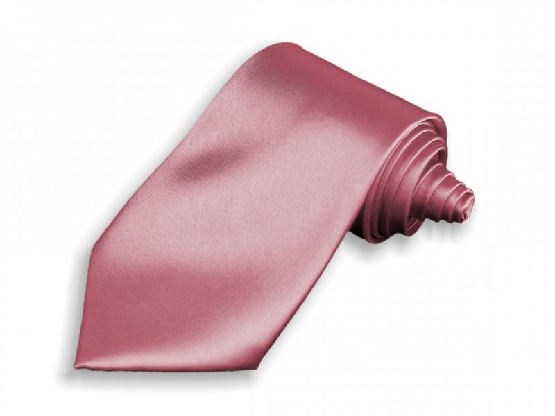 Doplnky pre ženicha - Kravata ružová