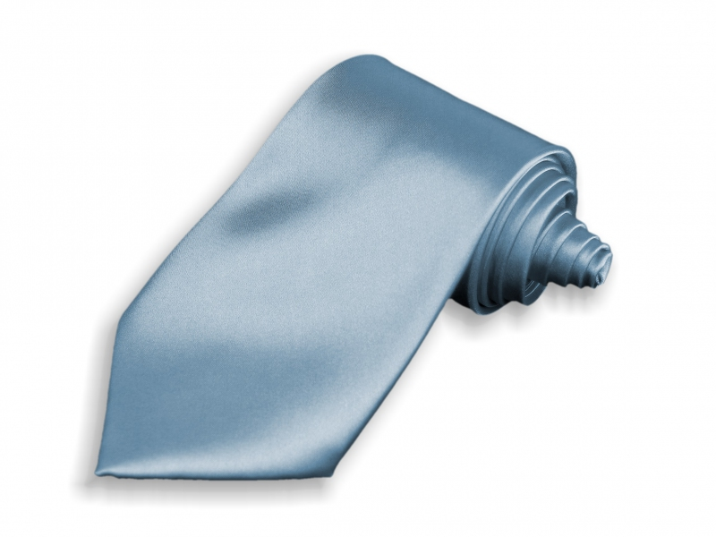 Doplnky pre ženicha - Kravata svetlo modrá