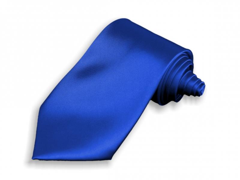Doplnky pre ženicha - Kravata modrá