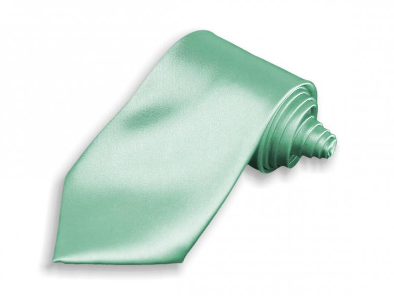 Doplnky pre ženicha - Kravata svetlo zelená