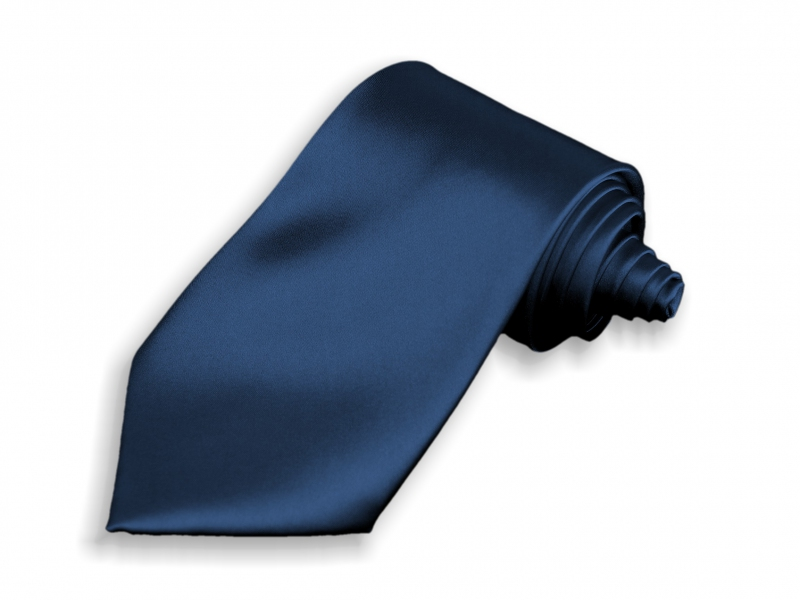 Doplnky pre ženicha - Kravata tmavo modrá