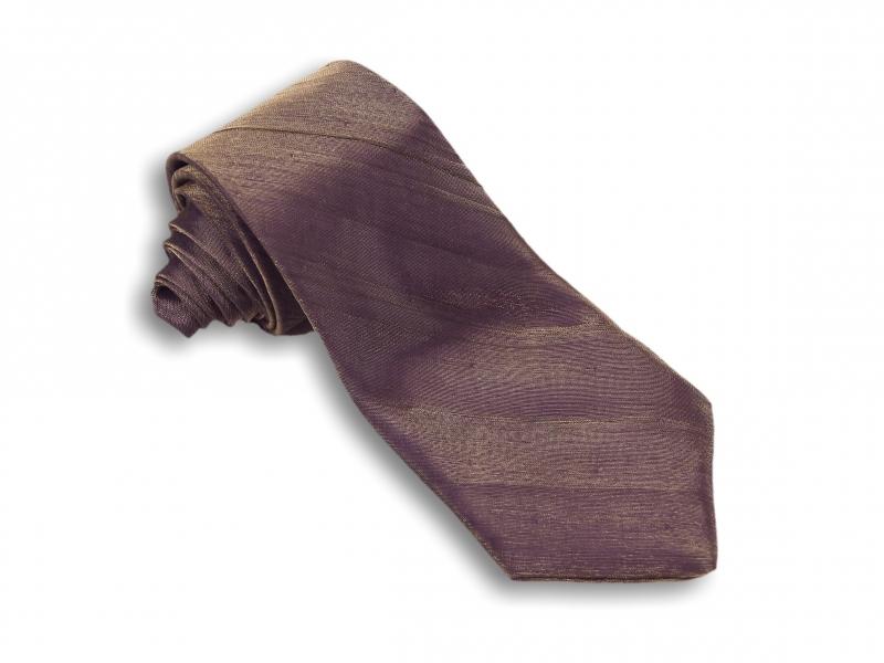 Doplnky pre ženicha - Tmavo fialová kravata deluxe