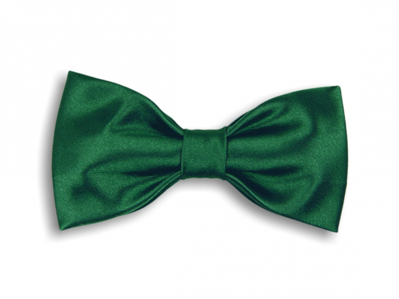 Doplnky pre ženicha - Tmavě-zelený motýlek
