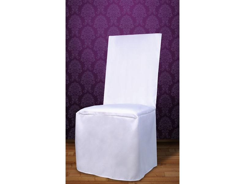 Biela - Poťah na stoličky