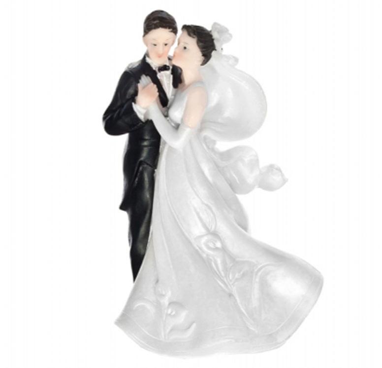 Figúrky na svadobnú tortu - Figúrka na tortu - tancujúci pár