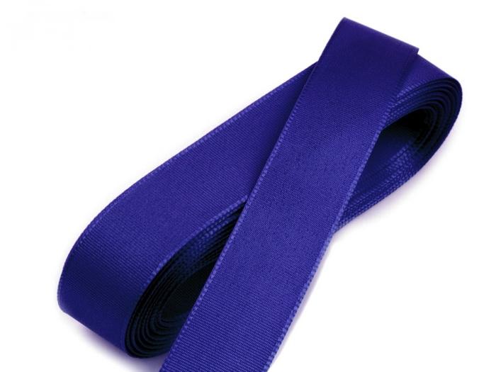 Svadobné výväzky a stuhy - Taftová stuha modrá 15mm