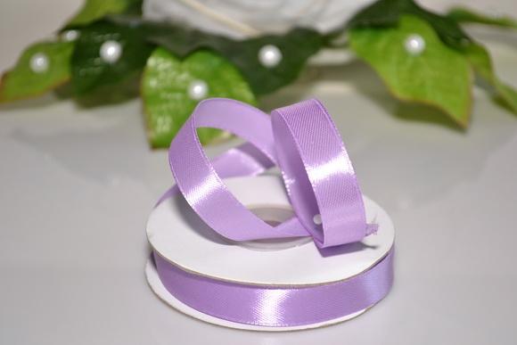 Svadobné výväzky a stuhy - Saténová stuha 12mm - fialová
