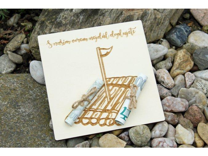 Dary pre novomanželov - Originalné želanie pre vodáky