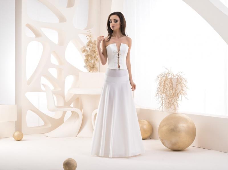 Doplnky pre nevestu - Spodnička s elastickým pásom - obvod 220 cm