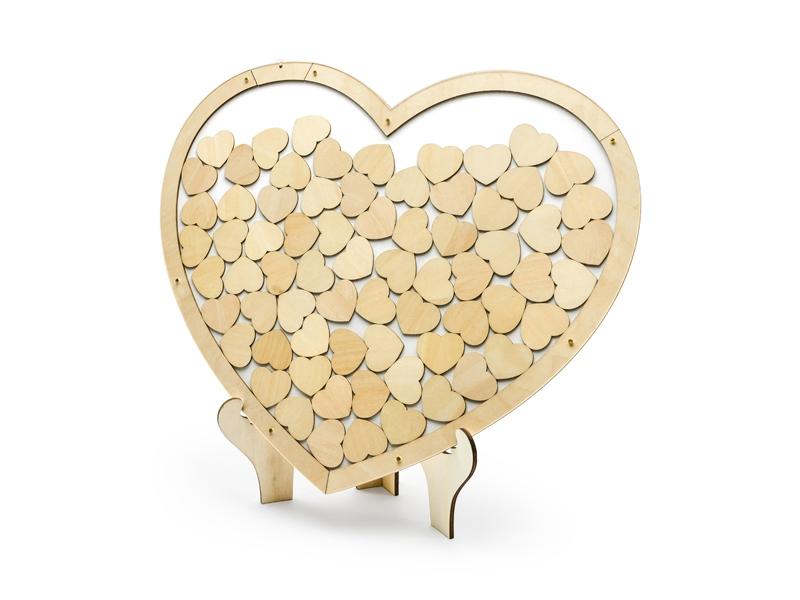 Svadobné ozdoby - Srdce na odkazy