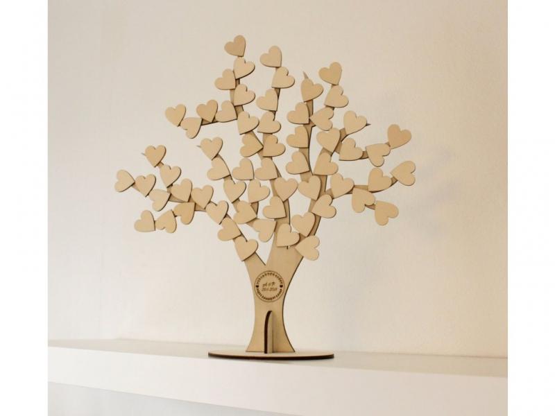Svadobné ozdoby - Svadobný strom 3D
