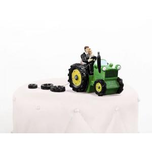 Figurka na dort - traktor