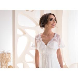 Svatební pelerínkový šál