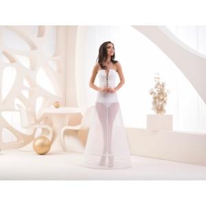 Dvoukruhová spodnice s elastickým pasem - obvod 190 cm