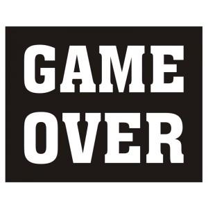 Nálepky Game Over