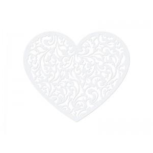 Papírová dekorace - srdce