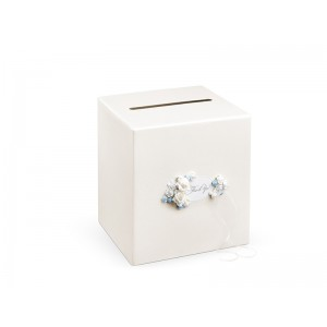 Krabička na přání - krémová
