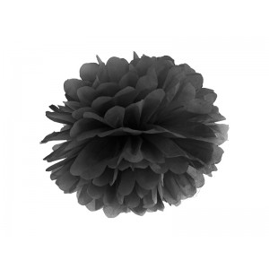 Pompom - černá