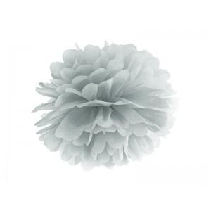 Pompom - stříbrná