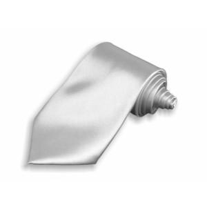 Kravata stříbrná