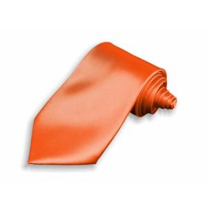 Kravata oranžová