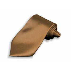 Kravata hnědá