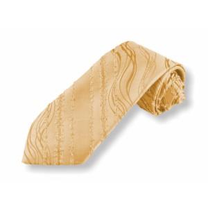 Tkaná kravata - béžová