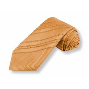 Tkaná kravata - žlutá