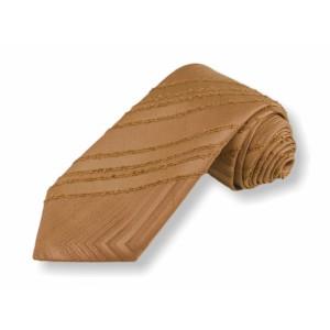 Tkaná kravata - sv.hnědá