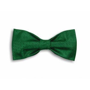 Zelený tkaný motýlek
