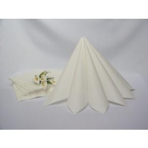 Dvouvrstvé ubrousky - bílá