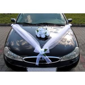 Výzdoba na auto kytice