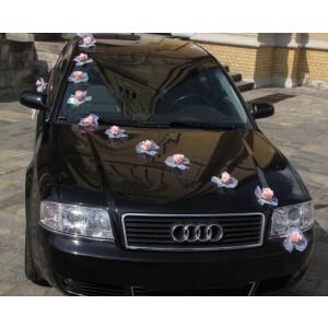 Výzdoba auta růže