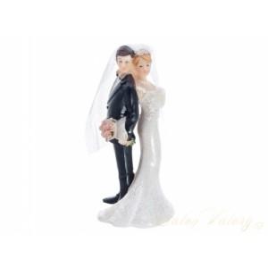 Figurka na dort - nevěsta a ženich