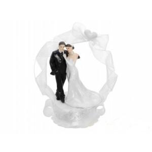 Figurka na dort - ženich s nevěstou