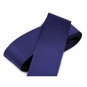 Taftová stuha modrá - 40mm