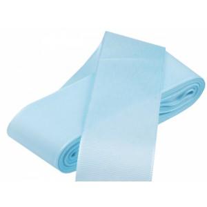 Taftová stuha bledě modrá - 40mm