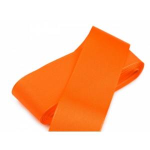 Taftová stuha oranžová - 40mm
