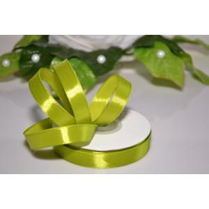 Saténová stuha 12mm - světle zelená