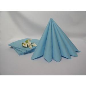 Dvouvrstvé ubrousky - světle modrá