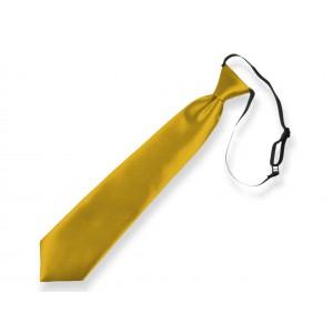 Dětská kravata zlatá