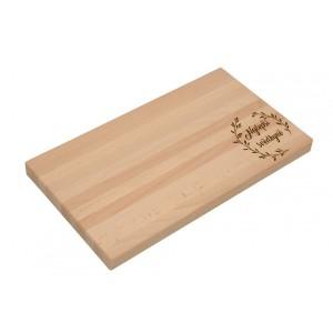 Dřevěné prkénko pro svědkyni