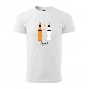 Rozlúčkové tričko dvě piva