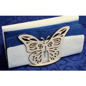 Stojánek na ubrousky - motýlek